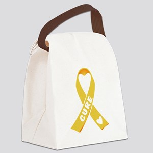 Go Gold Canvas Lunch Bag