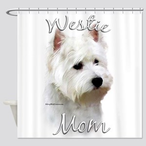 Westie Mom Shower Curtain
