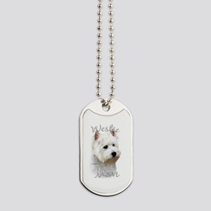 Westie Mom Dog Tags