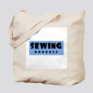 Sewing Goddess Tote Bag