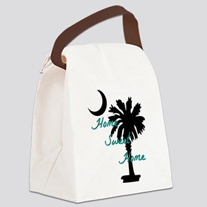home sweet home carolina Canvas Lunch Bag
