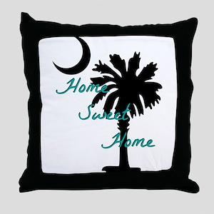home sweet home carolina Throw Pillow