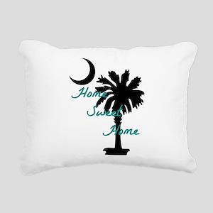 home sweet home carolina Rectangular Canvas Pillow