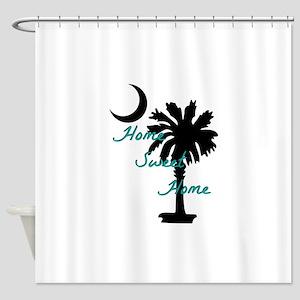 home sweet home carolina Shower Curtain