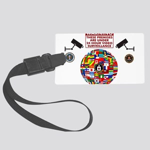 Premises under Surveillance Luggage Tag