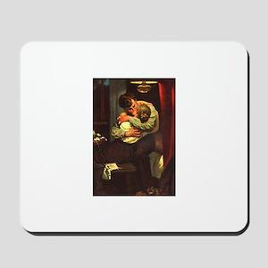 Necking Knitter Mousepad