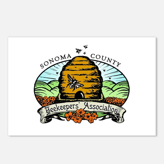 Sonoma County Beekeepers Association Postcards (Pa