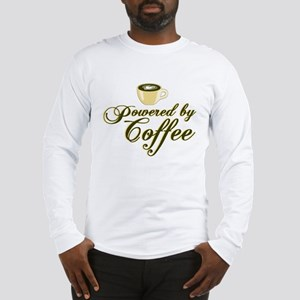 Powered By Coffee Long Sleeve T-Shirt