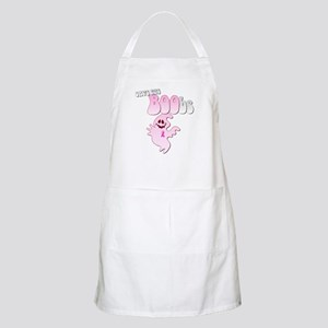 Save the BOObs Pink Ghost Apron