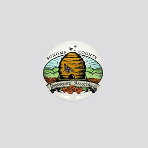 Sonoma County Beekeepers Association Mini Button