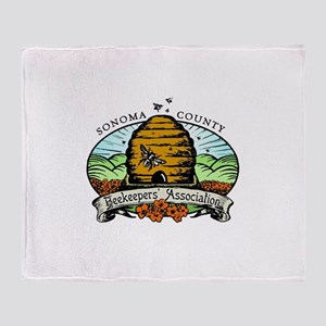 Sonoma County Beekeepers Association Throw Blanket