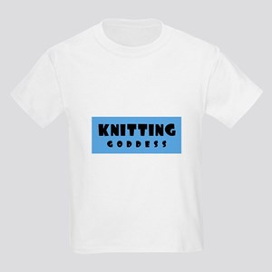 Knitting Goddess Kids T-Shirt
