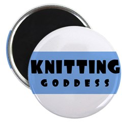 Knitting Goddess Magnet