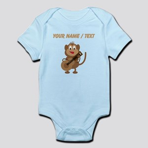 Custom Monkey Playing Guitar Body Suit