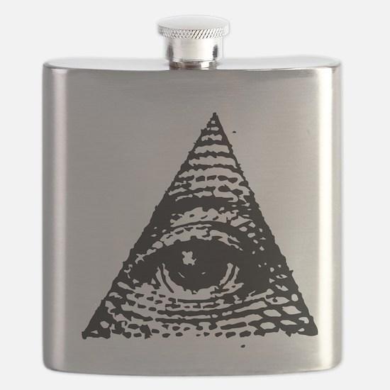 Illuminati All Seeing Eye Flask