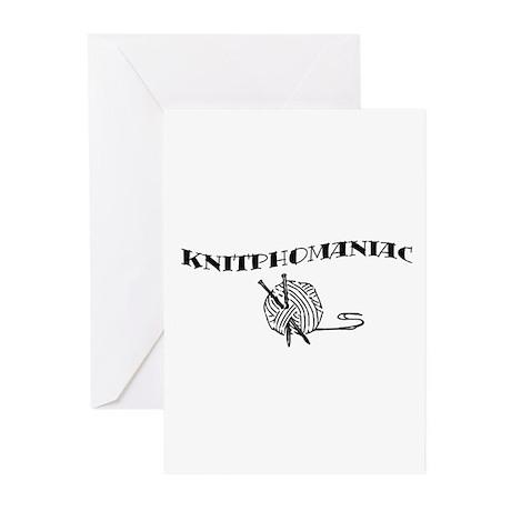 Knitphomaniac Greeting Cards (Pk of 10)