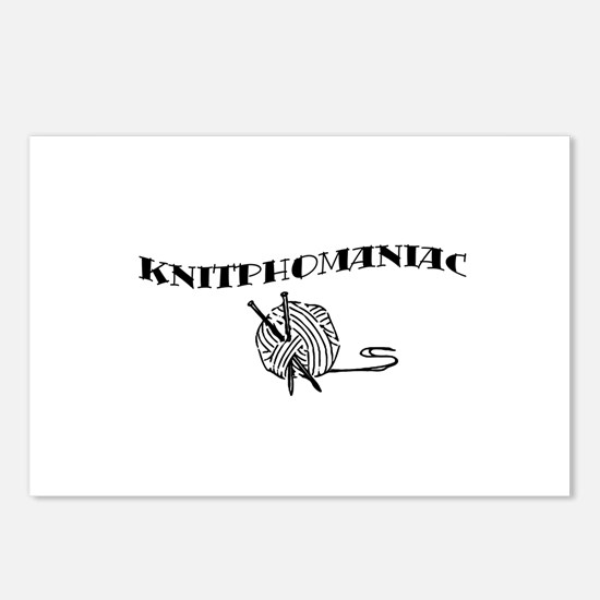 Knitphomaniac Postcards (Package of 8)