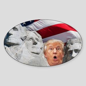 Mount Trumpmore - Trump Sticker