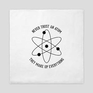 Never Trust An Atom Queen Duvet