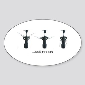 Wine Aerobics Sticker