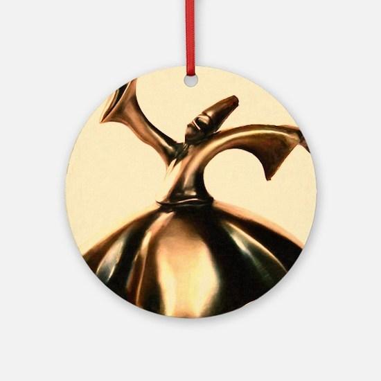 Sufi_Dervish art Round Ornament