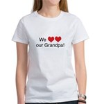 We heart grandpa Women's T-Shirt