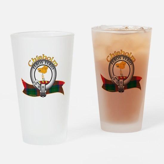 Chisholm Clan Drinking Glass