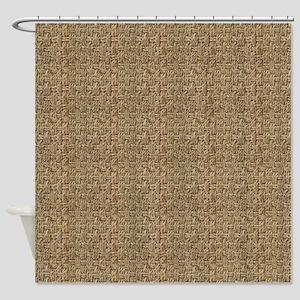 Weaver's Delight Shower Curtain