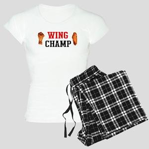 Hot Wing Champ Pajamas
