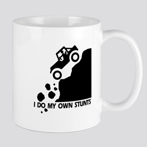 Hill Jeep I Do My Own Stunts Mug