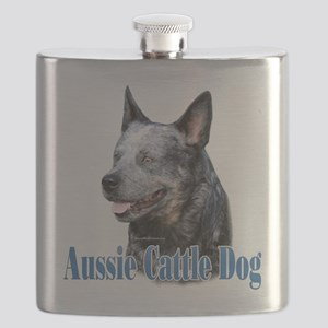 Aussie Cattle Name Flask