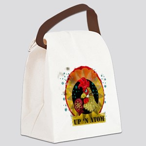 Classic Kitsch WWII Nose Art Up n Canvas Lunch Bag