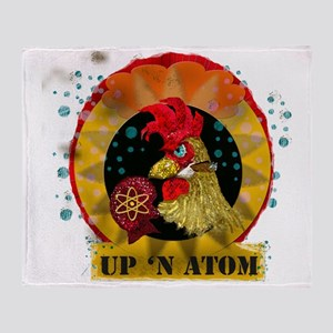 Classic Kitsch WWII Nose Art Up n' A Throw Blanket