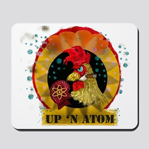 Classic Kitsch WWII Nose Art Up n' Atom Mousepad