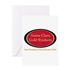 Gold Rusher Logo Greeting Cards