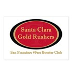 Gold Rusher Logo Postcards (package Of 8)