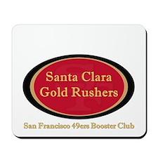 Gold Rusher Logo Mousepad