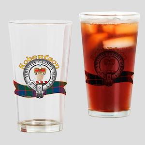 Robertson Clan Drinking Glass
