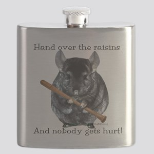 Chin Raisin Flask
