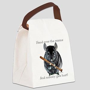 Chin Raisin Canvas Lunch Bag