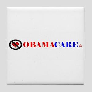 No Obamacare Tile Coaster