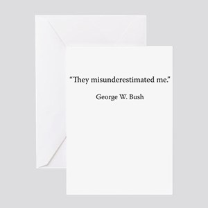 George w bush greeting cards cafepress speech 6 november 2000 greeting cards m4hsunfo Image collections