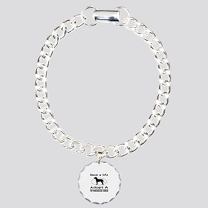 Adopt A Toy Manchester Terrier Dog Charm Bracelet,