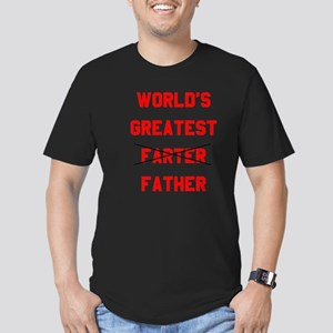 World's  Greatest Fath Men's Fitted T-Shirt (dark)