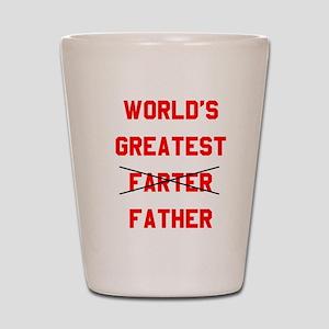 World's  Greatest Father Shot Glass