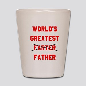 World's  Greatest Father Shot Glass