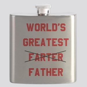 World's  Greatest Father Flask