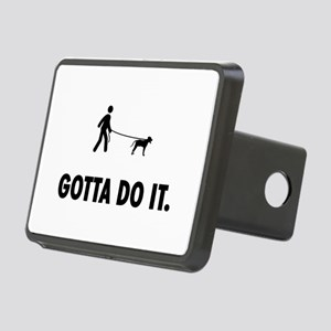 Blackmouth Cur Rectangular Hitch Cover