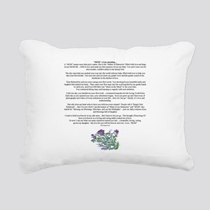 MOM to Daughter True Meaning Poem Rectangular Canv