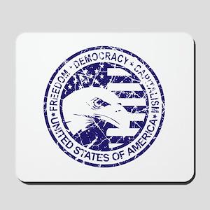 Freedom-Democracy Seal Mousepad